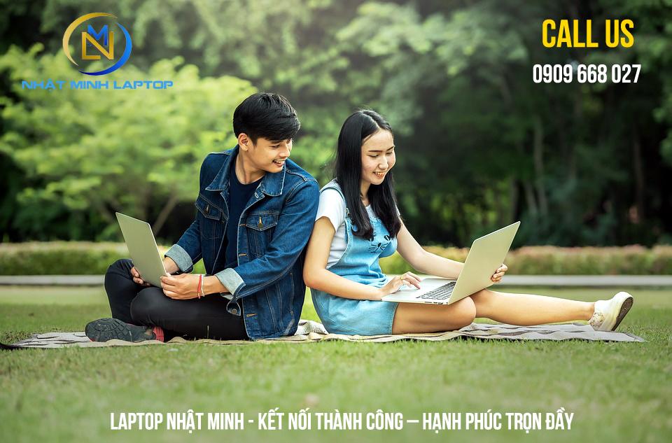 Laptop Nhật Minh kết nối thành công - hạnh phúc trọn đầy