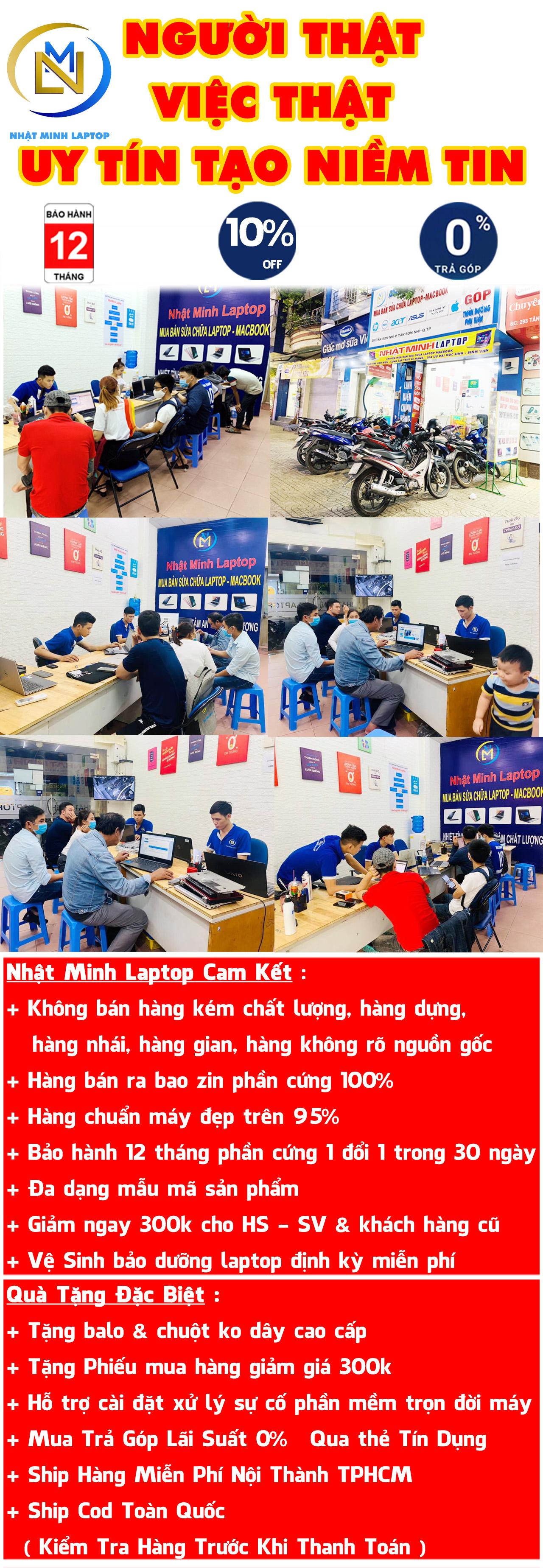 Thương Hiệu Nhật Minh Laptop