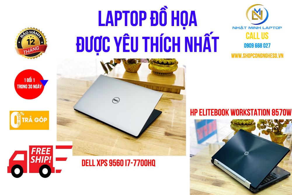 Laptop Dell chuyên đồ họa
