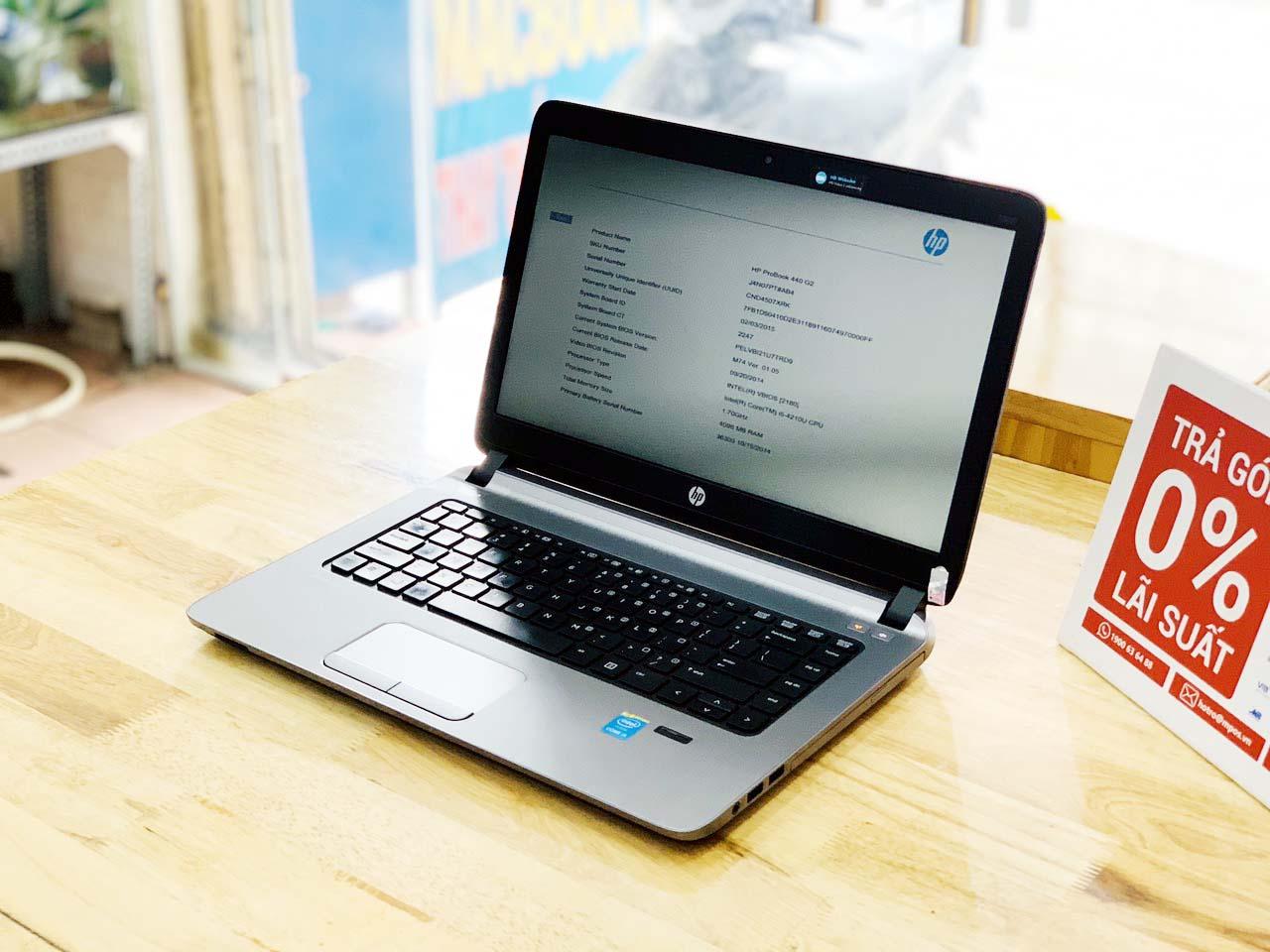 Laptop cũ giá rẻ HP Probook 440 G2