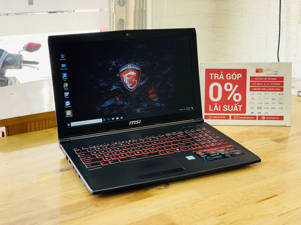 Laptop Gaming MSI GP62MVR