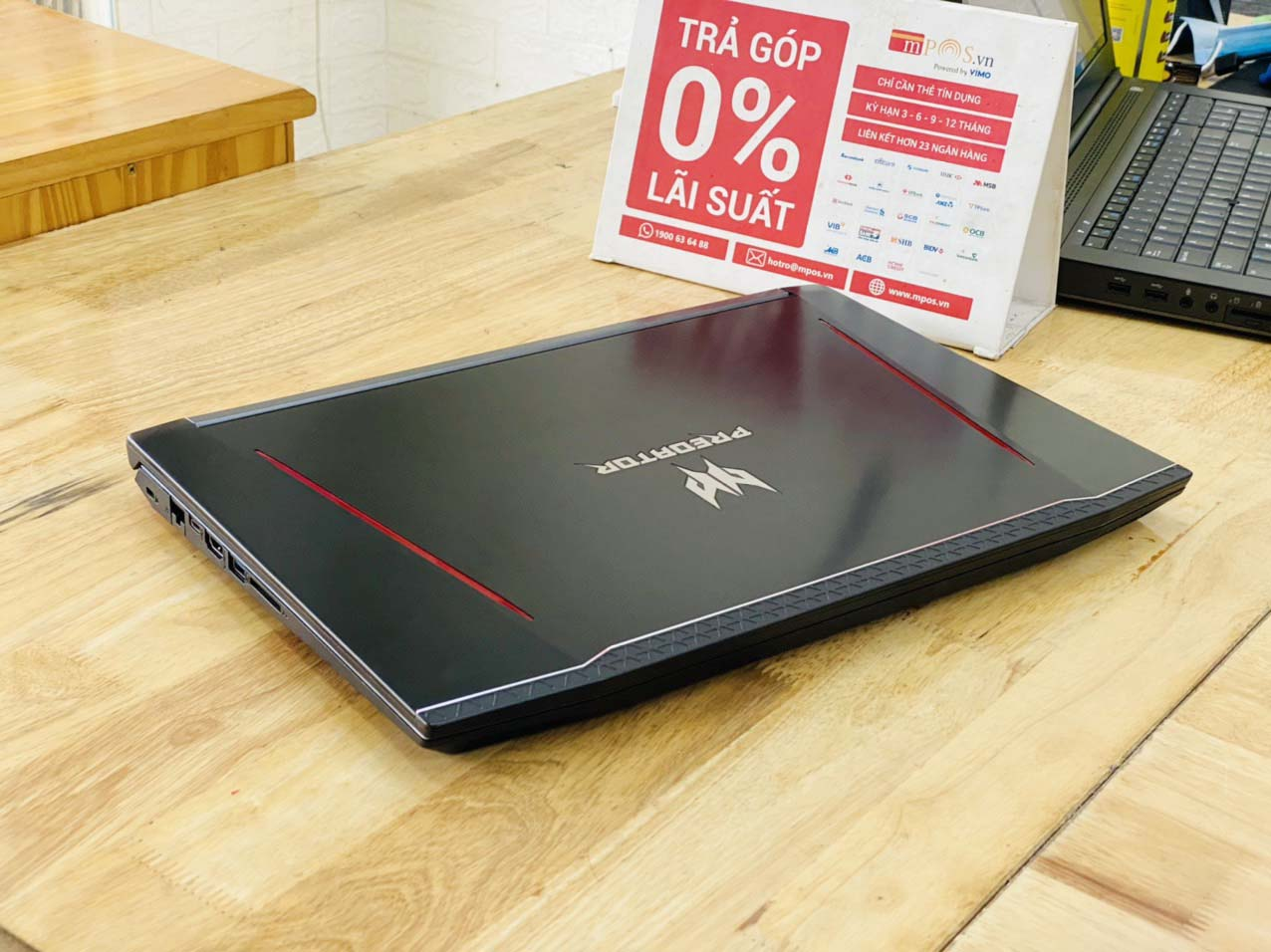 Laptop Gaming Acer Predator PH315-51 i7-8750H Ram 16G SSD 512G Nvidia GTX 1060(6G) 15.6 inch Full HD Like New