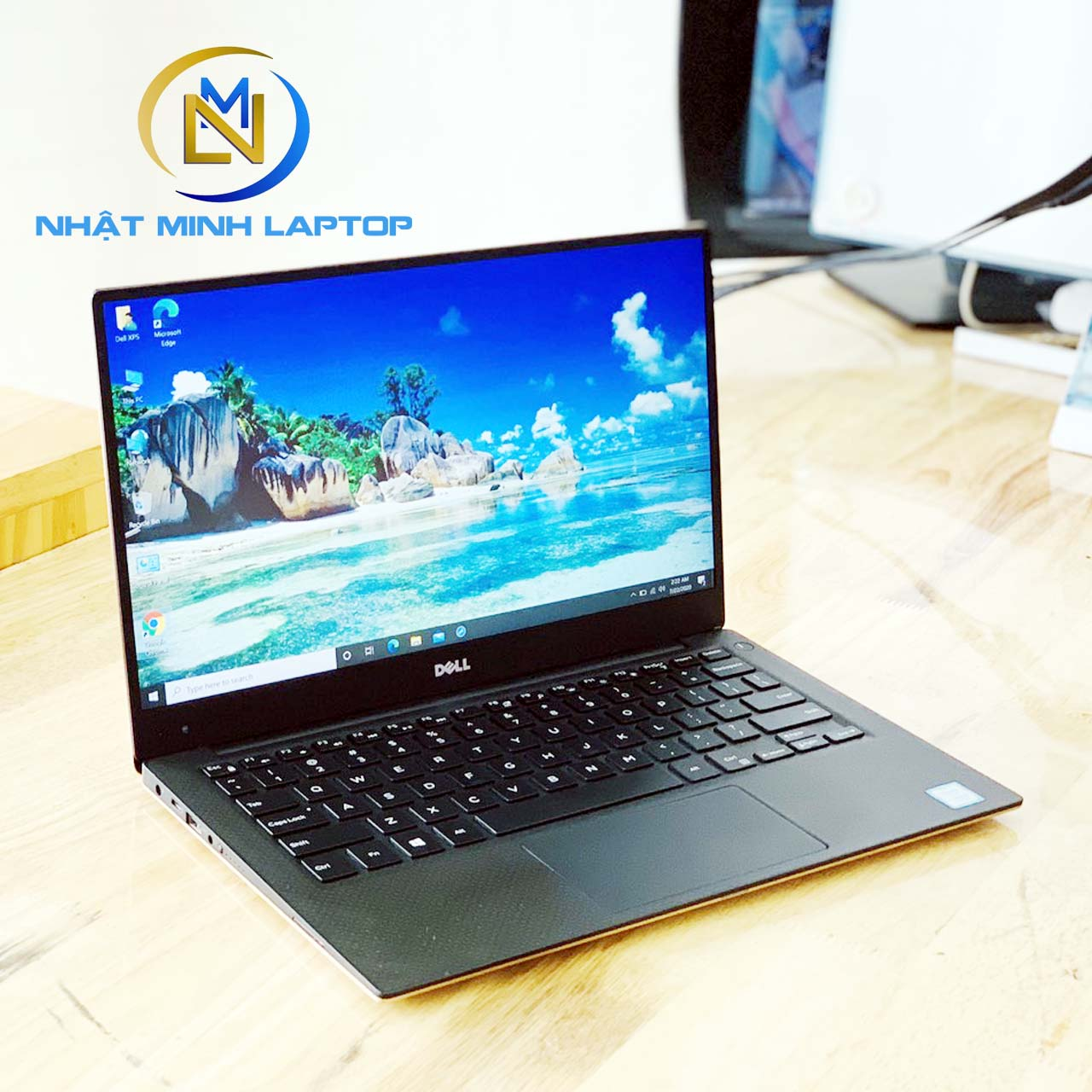 Laptop Dell Xps 13 9360 i5-7200U Ram 8GB SSD 256GB 13 inch Full HD Màu Gold