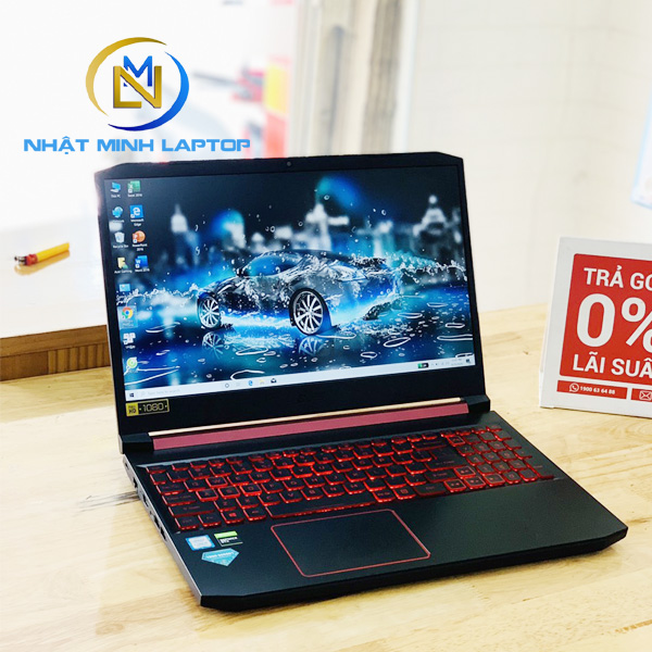 Laptop Gaming Acer Nitro AN515-54 i5-9300H Ram 8G SSD 256G Nvidia GTX 1050(3G) 15.6 inch Full HD