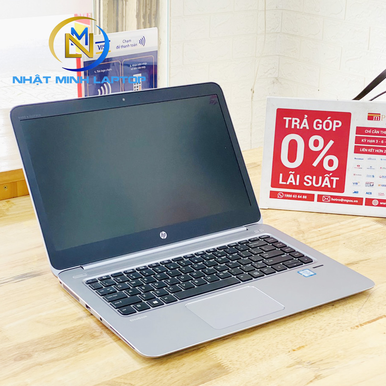 Laptop HP Folio 1040 G3 i7-6600U Ram 8G SSD 256G 14 inch Full HD Siêu Mỏng